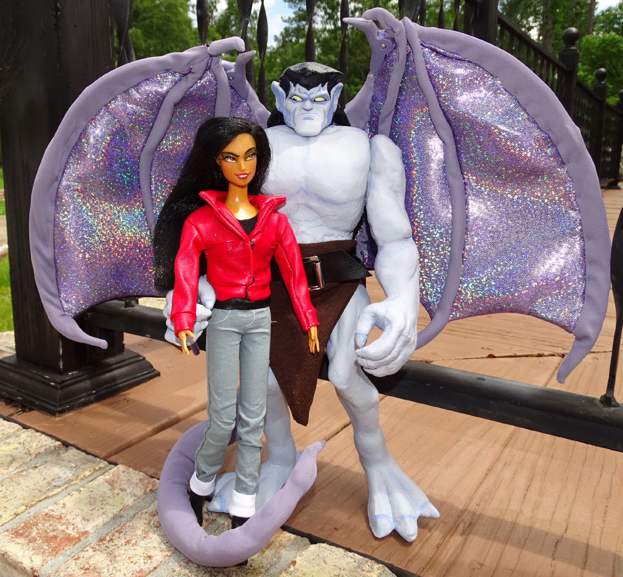 "Elisa Maza from Gargoyles 11"" Doll!!"